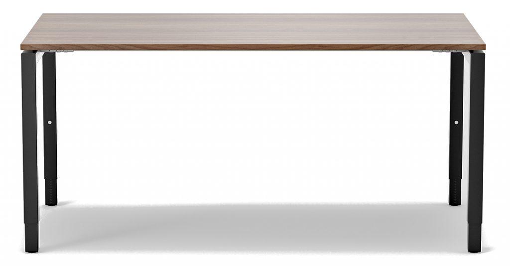 nexus, höhenverstellbar, ergonomisch, arbeitstisch, rechtecktisch, schreibtisch