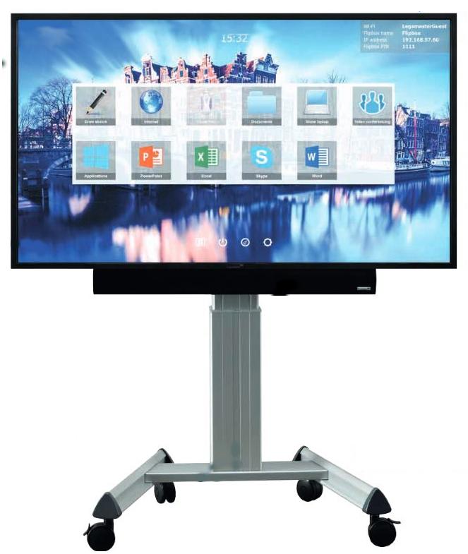 legamaster, präsentation, fernseher, bildschirm, led, video, videokonferenz, videocall, videotelefonie, telefonie